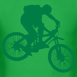 Mountain Biking T-Shirts - Men's T-Shirt