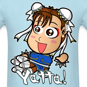 Chibi Chun-Li Yatta Shirt (Male) - Men's T-Shirt
