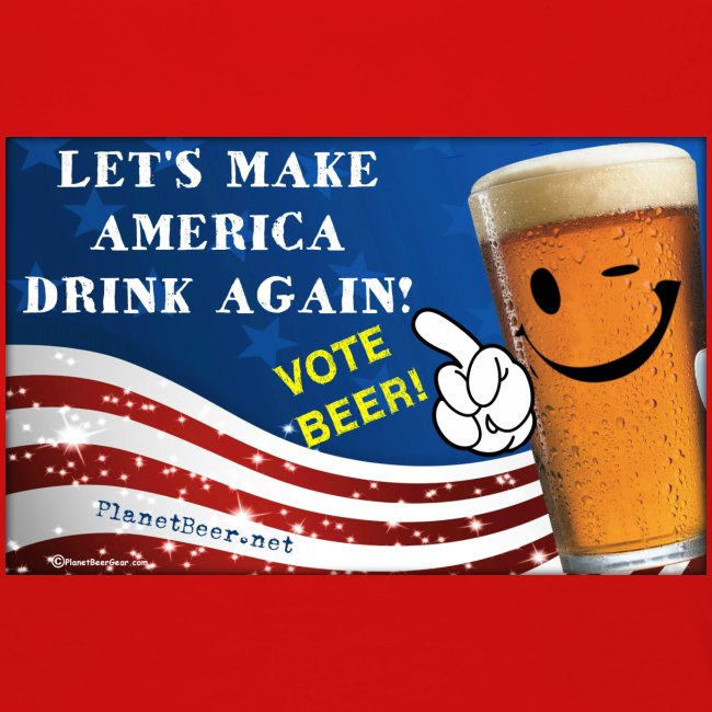 Let's Make America Drink Again! Women's Premium Long Sleeve T-Shirt