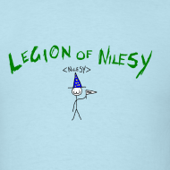 Design ~ Legion of Nilesy (Sky Blue)