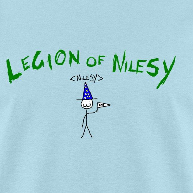 Legion of Nilesy (Sky Blue)