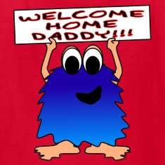 Welcome Home Daddy Monster SS Tee