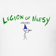 Design ~ Legion of Nilesy (White)