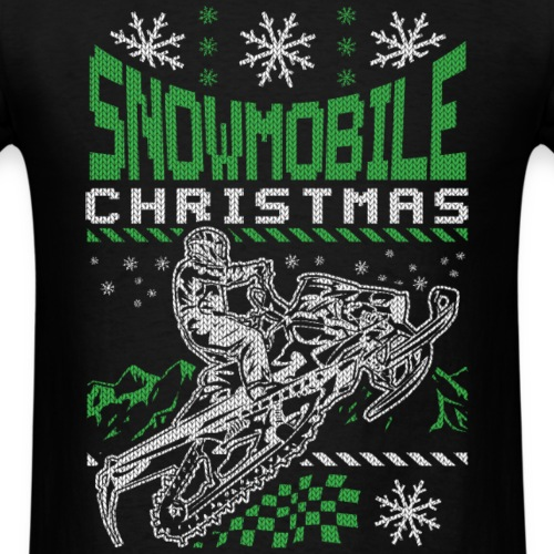 Snowmobile Ugly Christmas