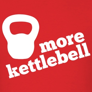 More Kettlebell - Red - Men's T-Shirt
