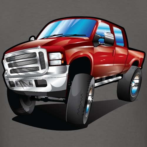 Cartoon Red Ford