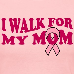 Walk For Mom Long Sleeve Shirts - Women's Long Sleeve Jersey T-Shirt