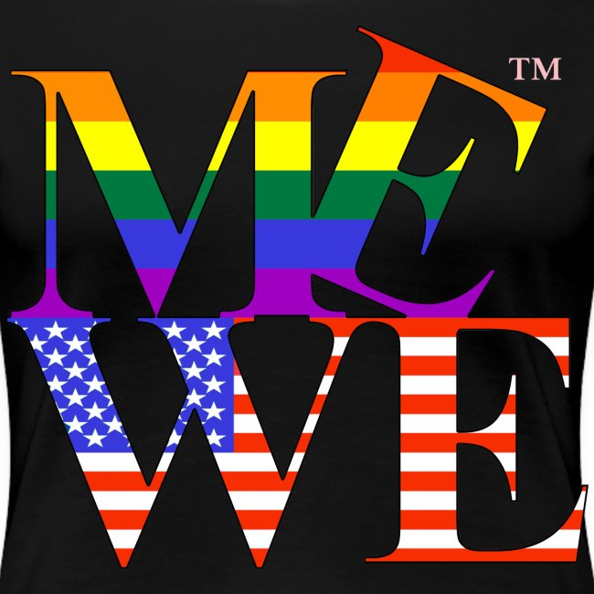 Me We LGBT Women's Tee