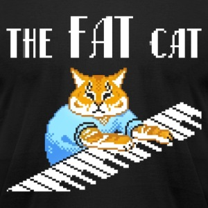 The Fat Cat - Men's T-Shirt by American Apparel