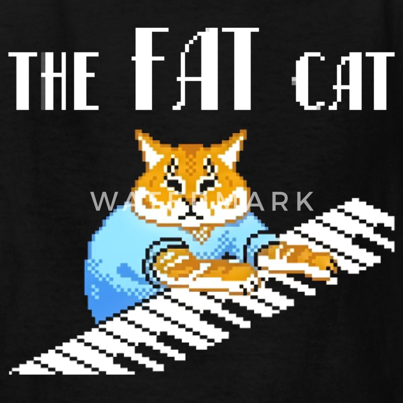 The Fat Cat - Kids' T-Shirt