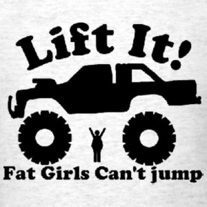 lifted truck T-Shirts - Men's T-Shirt