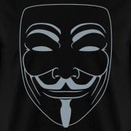 Design ~ Vendetta MASK in Metallic Silver -