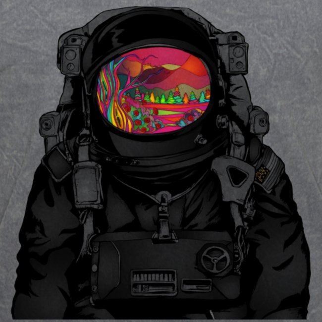 tripped out space man