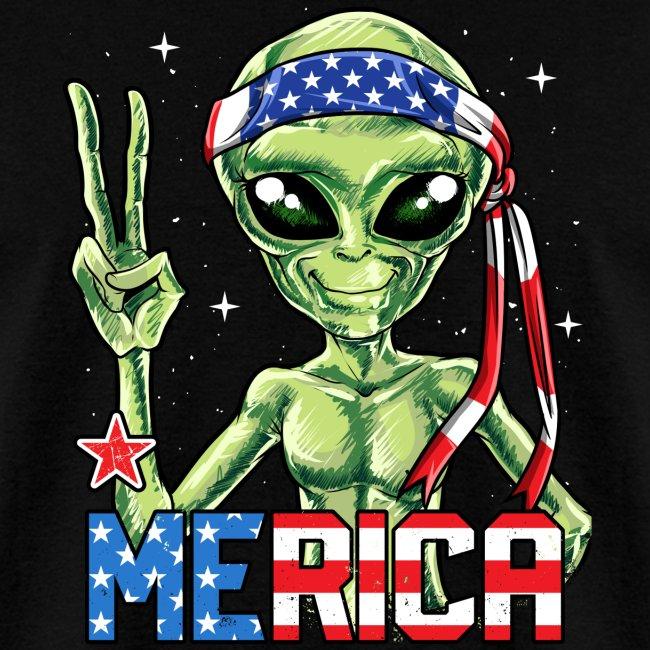 Alien Merica 4th of July