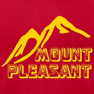 Mount Pleasant T-Shirts - Men's T-Shirt by American Apparel