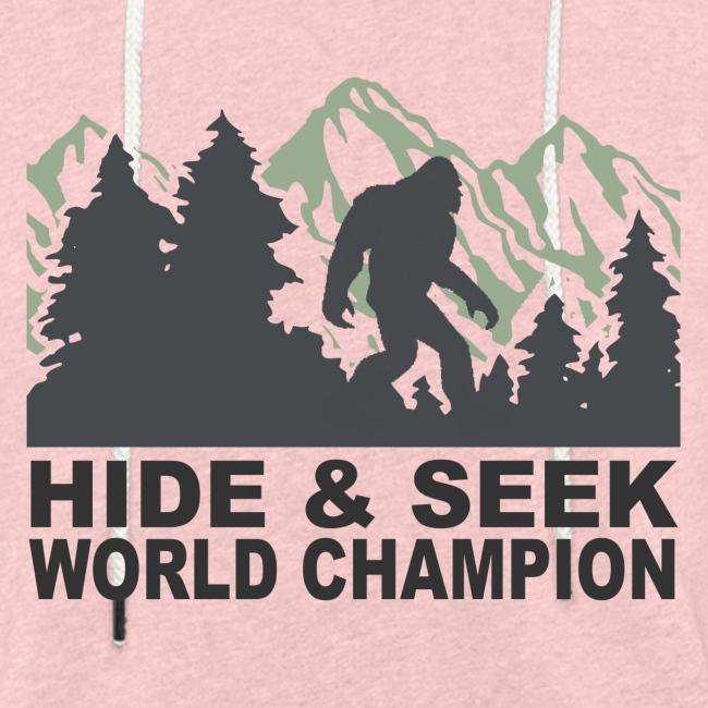 Hide & Seek Champ!