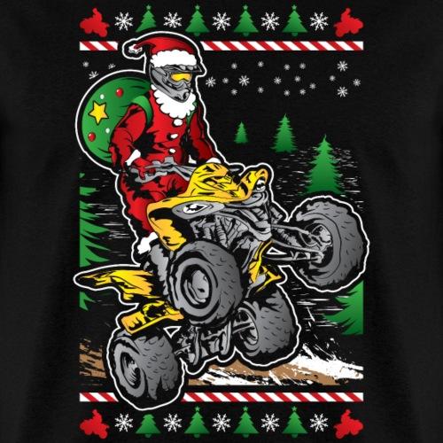 Santa Claus ATV Rider