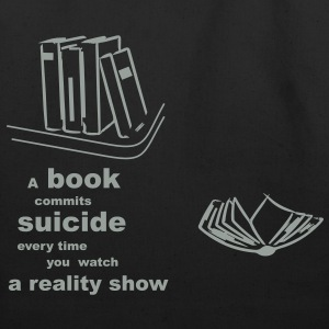 the suicide book Bags  - Eco-Friendly Cotton Tote
