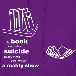 the suicide book Hoodies - Women's Hoodie