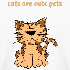cats-cute pets - Kids' Long Sleeve T-Shirt