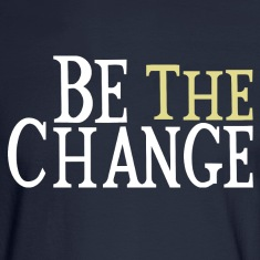 Be The Change Gandhi Long Sleeve Shirts