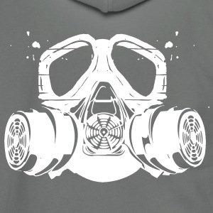 gas mask Zip Hoodies/Jackets - Unisex Fleece Zip Hoodie by American Apparel