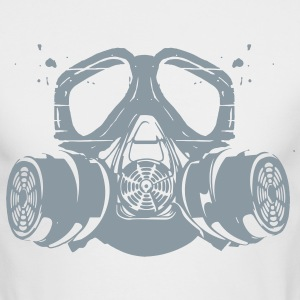 gas mask Long Sleeve Shirts - Men's Long Sleeve T-Shirt by Next Level