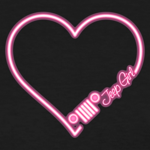 Jeep Love Pink Neon