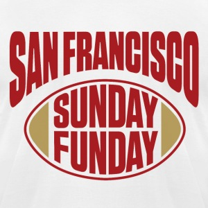 San Fran Sunday Funday T-Shirts - Men's T-Shirt by American Apparel