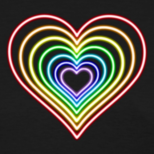 Neon Heart 2 - Rainbow