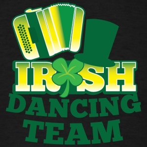 IRISH Dancing team with accordion and hat T-Shirts - Men's T-Shirt