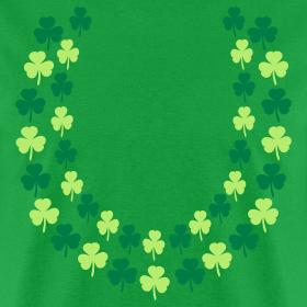 Design ~ Hawaiian Irish Shamrock Lei (St. Patrick's Day) Shirt