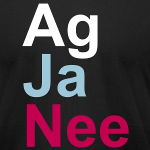 agjanee_t_11 T-Shirts - Men's T-Shirt by American Apparel