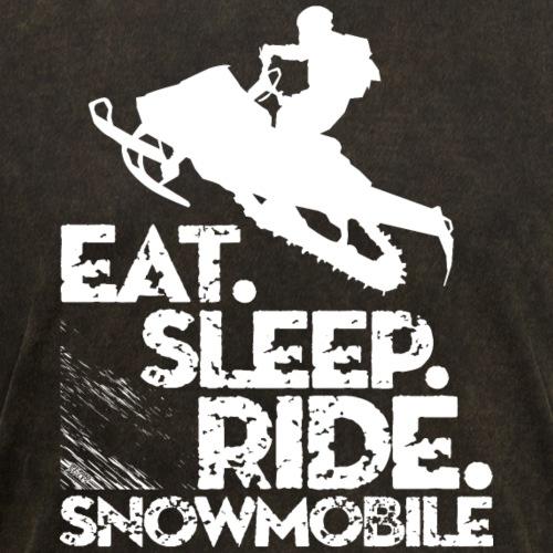 Snowmobile Eat Sleep Ride