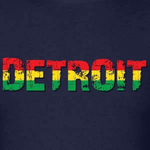 Detroit Reggae T-Shirts - Men's T-Shirt