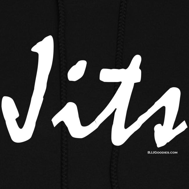 Jiu Jitsu - Jits Womens Hoodie - wb - Front