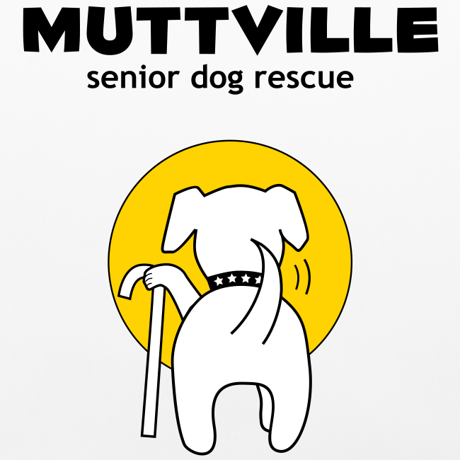 Muttville signature series pillow case