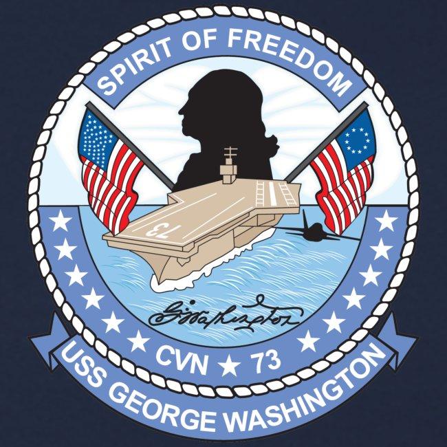 USS GEORGE WASHINGTON 2000 CRUISE SWEATSHIRT