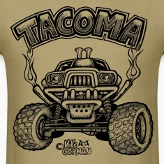 Toyota Tacoma off road truck T-Shirts