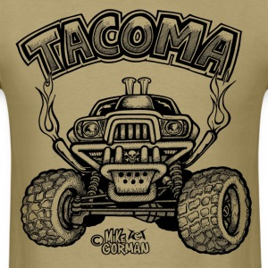 Toyota Tacoma off road truck T-Shirts - Men's T-Shirt