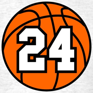 24 Basketball Raster 3_color TAS - Men's T-Shirt