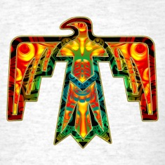 Sacred Thunderbird - symbol power &  strength Women's T-Shirts