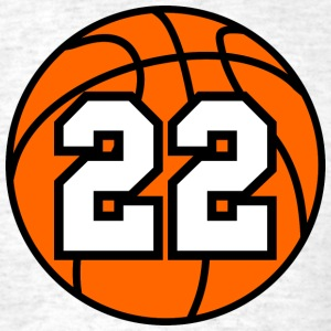 22 Basketball Raster 3_color TAS - Men's T-Shirt