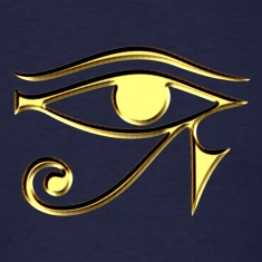 Eye of Horus - symbol protection & healing I T-Shirts