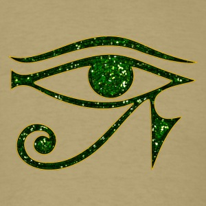 Eye of Horus reverse Moon eye of Thot I T-Shirts - Men's T-Shirt