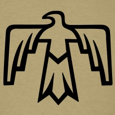 Thunderbird - Native Symbol - Totem Women's T-Shirts