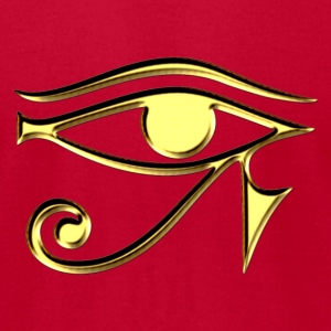 Oeil d'Horus - Eye of Horus - symbol protection, T-shirts (manches courtes) - T-shirt pour hommes American Apparel