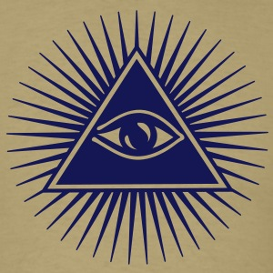 all seeing eye of god - symbol Supreme Being T-shirts (manches courtes) - T-shirt pour hommes