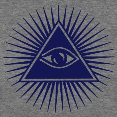 all seeing eye of god - symbol Supreme Being Long Sleeve Shirts