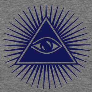 all seeing eye of god - symbol Supreme Being Long Sleeve Shirts - Women's Wideneck Sweatshirt